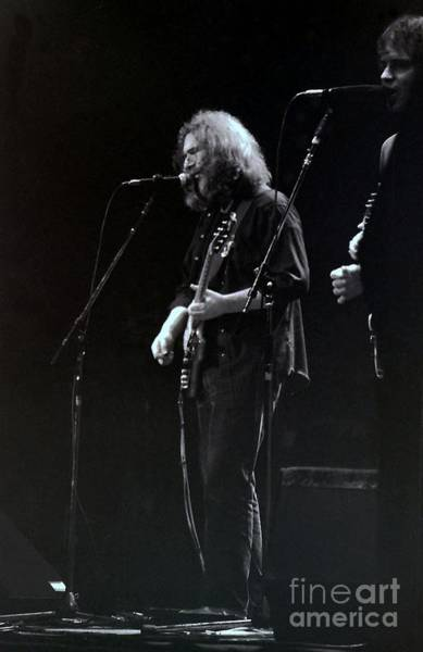 Pigpens Photograph - Jerry Garcia Of The Grateful Dead  by Susan Carella