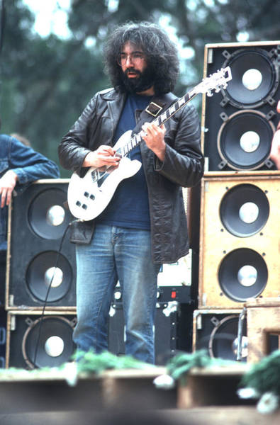 Greatful Dead Photograph - Jerry Garcia - Grateful Dead by Ron Draper