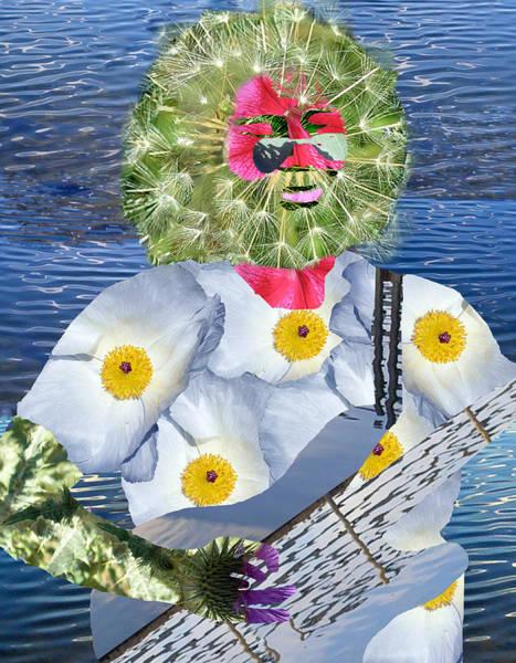 Mlk Digital Art - Jerry Garcia by JG Whitney