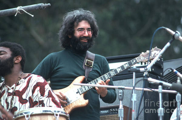 Jerry Garcia Photograph - Jerry Garcia by Ron Draper