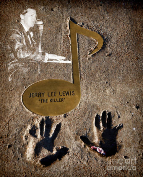 Photograph - Jerry Lee Lewis by Donna Greene