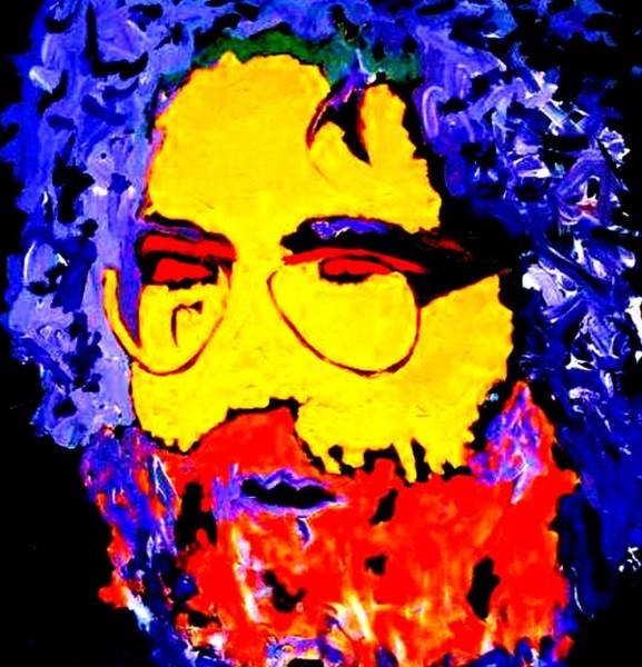 Painting - Jerry Rocks by Neal Barbosa