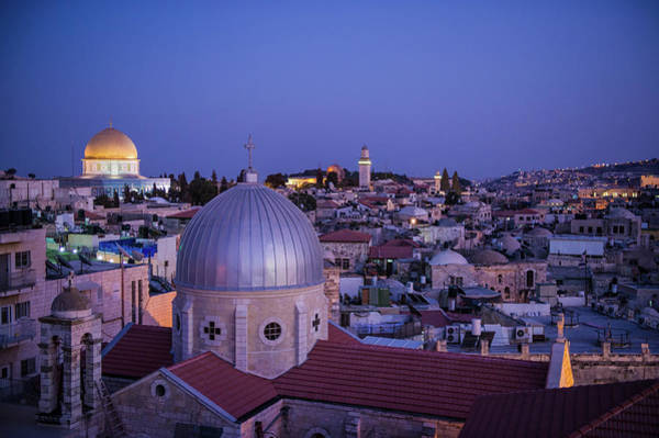 Jerusalem Photograph - Jerusalem, Israel by Photo By John Quintero