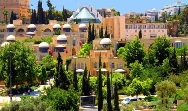 Jerusalem Photograph - Jerusalem New City by Photograpy By Jacques Freund