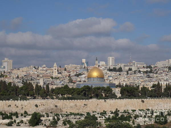Photograph - Jerusalem Old City by Karen Jane Jones