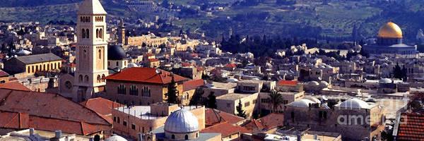 Wall Art - Photograph - Jerusalem Panoramic by Thomas R Fletcher