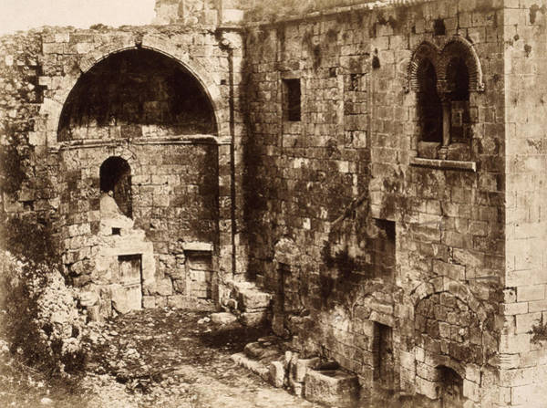 Wall Art - Photograph - Jerusalem Ruin, 1856 by Granger