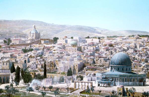 Wall Art - Photograph - Jerusalem Temple Mount by Granger