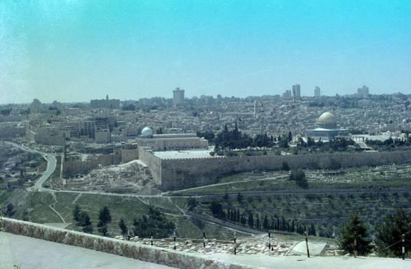 Photograph - Jerusalem by Tony Mathews
