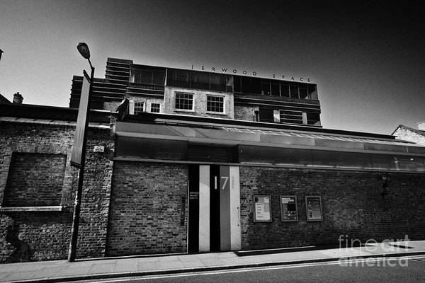 Bankside Photograph - jerwood space gallery and performance spaces London England UK by Joe Fox