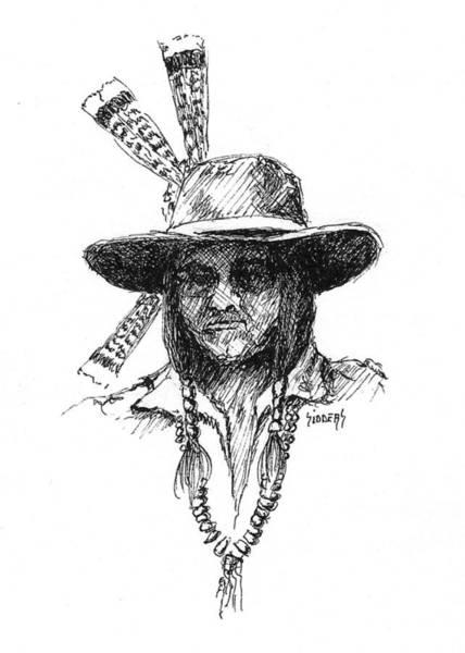 Drawing - Jesse by Sam Sidders