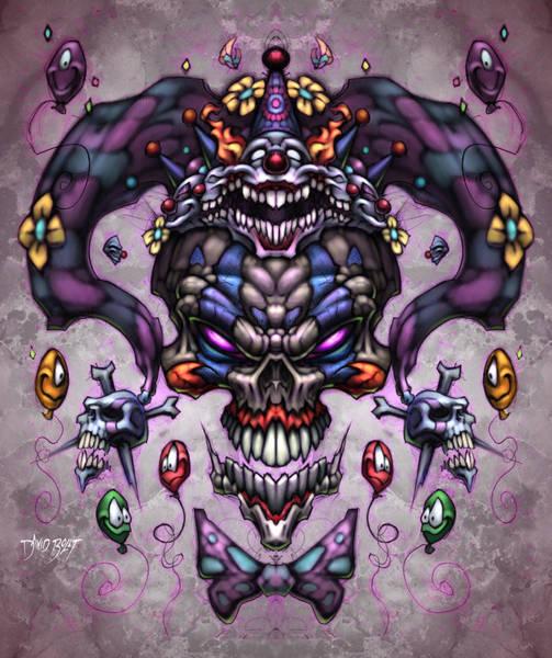 Wall Art - Digital Art - Jester God by David Bollt