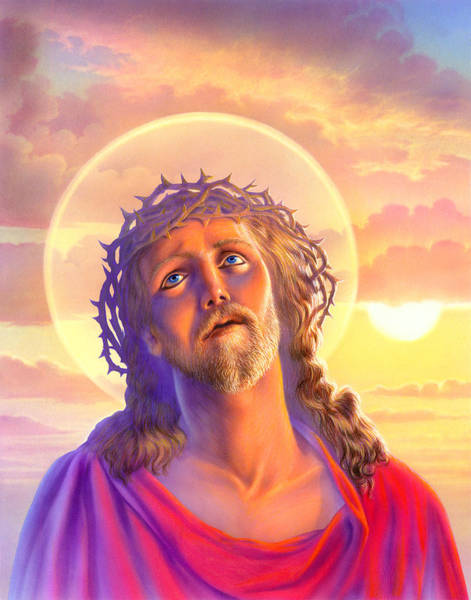 Andrew Farley Photograph - Jesus by MGL Meiklejohn Graphics Licensing
