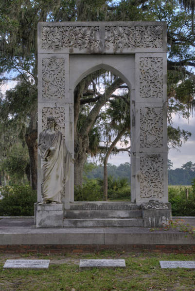 Photograph - Jesus At Arched Gateway by Bradford Martin