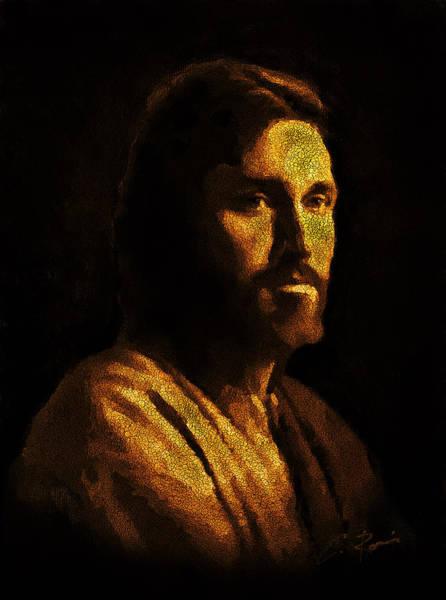 Painting - Jesus by Charlie Roman