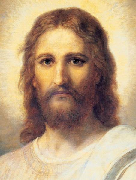 Oil Paints Painting - Jesus Christ by Carl Bloch