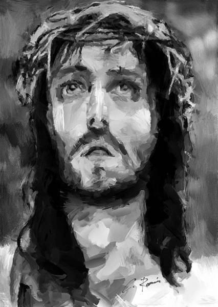 Painting - Jesus Christ by Charlie Roman