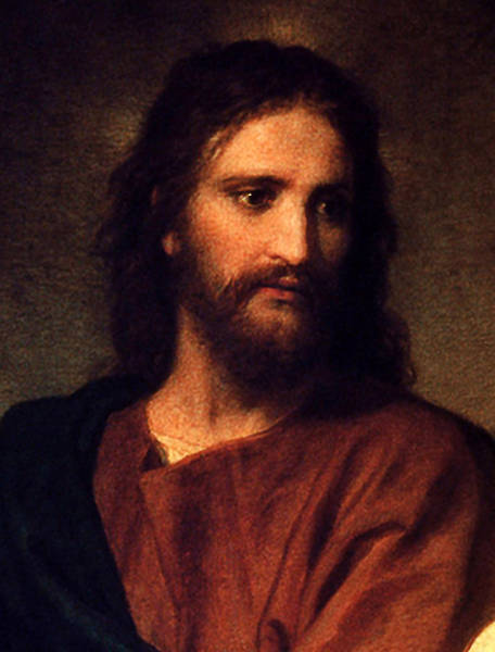 Digital Art - Jesus Christ by Heinrich Hofmann