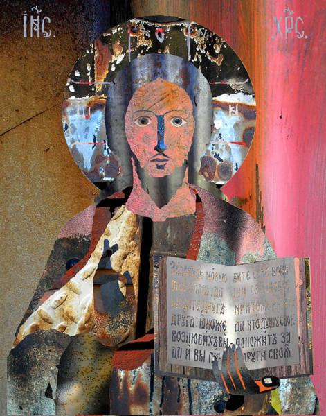 Mlk Digital Art - Jesus Christ by JG Whitney