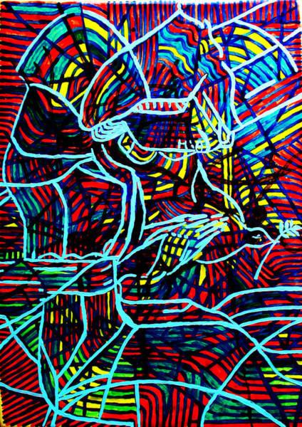 Ceramic Art - Jesus Christ - King Of Peace by Gloria Ssali