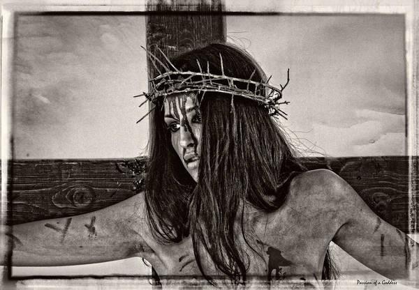 Crucifiction Wall Art - Photograph - Jesus Christ Portrait by Ramon Martinez