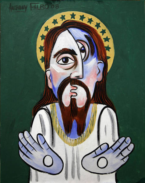 Painting - Jesus Christ Superstar by Anthony Falbo