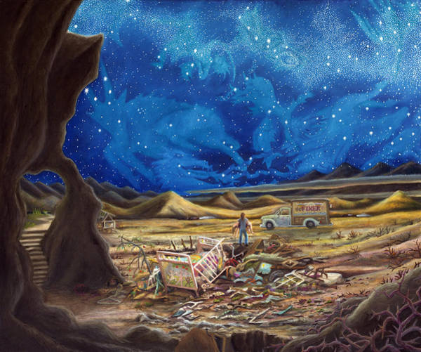 Redemption Painting - Jesus In Blue Jeans by Matt Konar