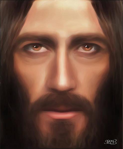 Wall Art - Mixed Media - My Jesus by Mark Spears