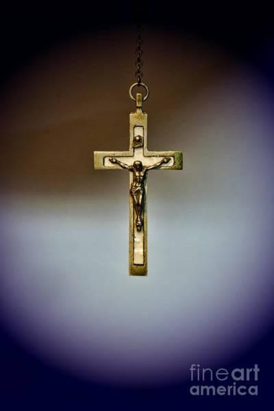 Redeemer Wall Art - Photograph - Jesus On The Cross 2 by Paul Ward