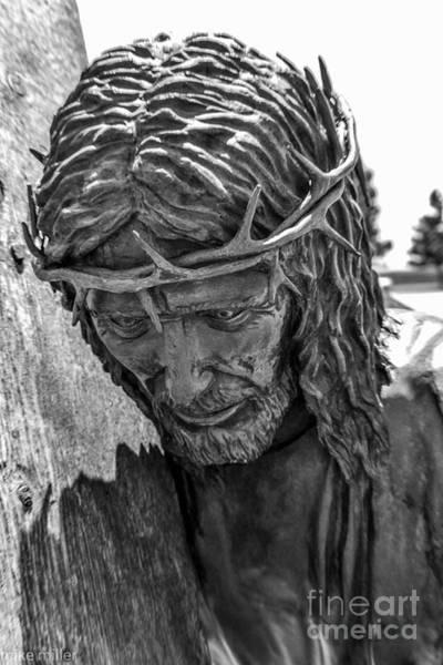 Michael Miller Wall Art - Photograph - Jesus Statue by Michael Miller