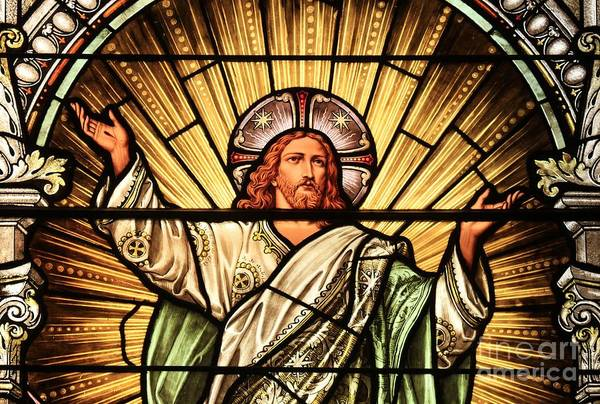 Jesus - The Light Of The Wold Art Print