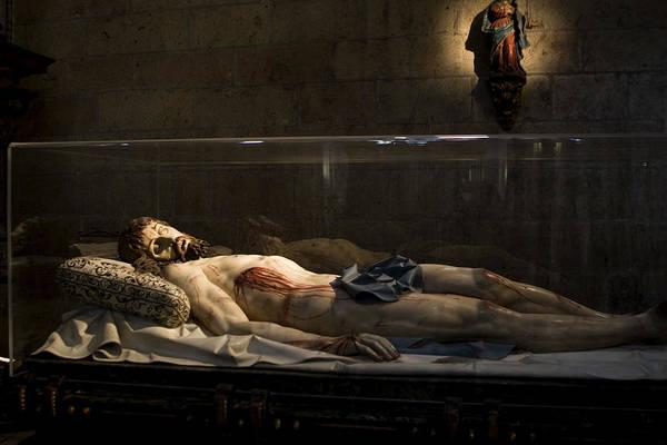 Photograph - Jesus The Macabre by Lorraine Devon Wilke