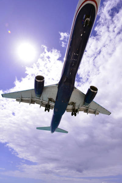 Photograph - Jet Under Belly  by Matt Swinden
