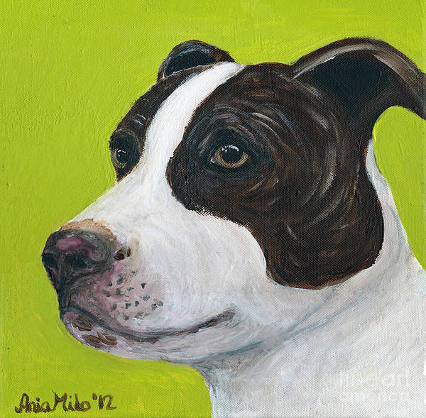 Painting - Jethro On Green by Ania M Milo