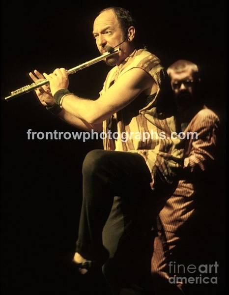 Folk Singer Photograph - Jethro Tulll by Concert Photos