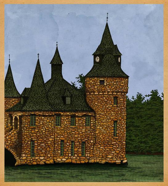 Wall Art - Drawing - Jethro's Castle by Meg Shearer