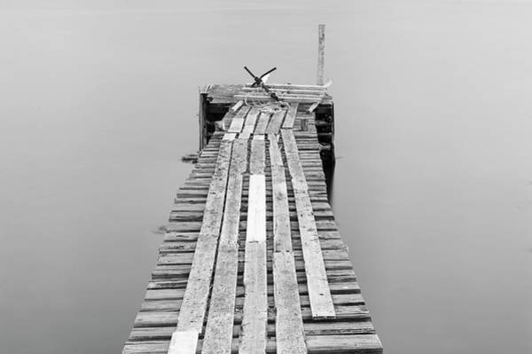 Jetty Photograph - Jetty At Dusk, Newfoundland by Aluma Images