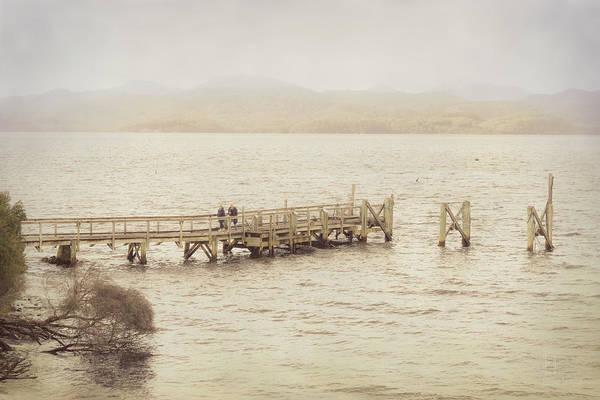 Photograph - Jetty On Sarah Island by Elaine Teague