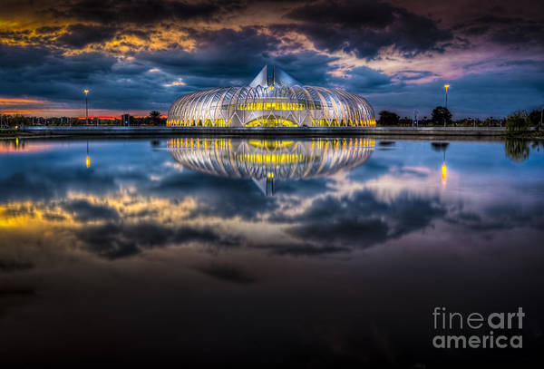 Santiago Calatrava Photograph - Jewel In The Night by Marvin Spates