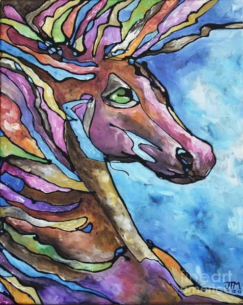 Painting - Jewel by Jonelle T McCoy
