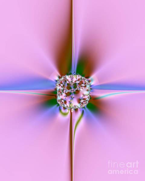 Aspect Digital Art - Jewel by Yvonne Johnstone