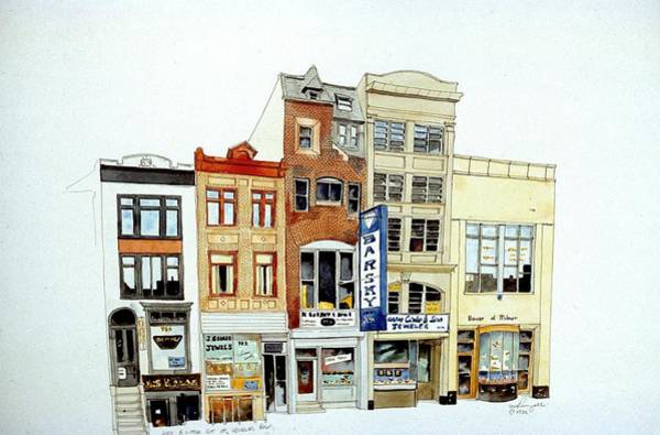 Painting - Jeweler's Row by William Renzulli