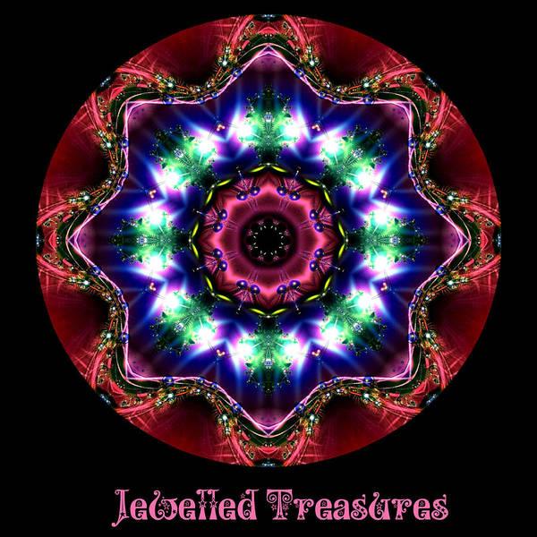 Digital Art - Jewelled Treasure 10 by Charmaine Zoe