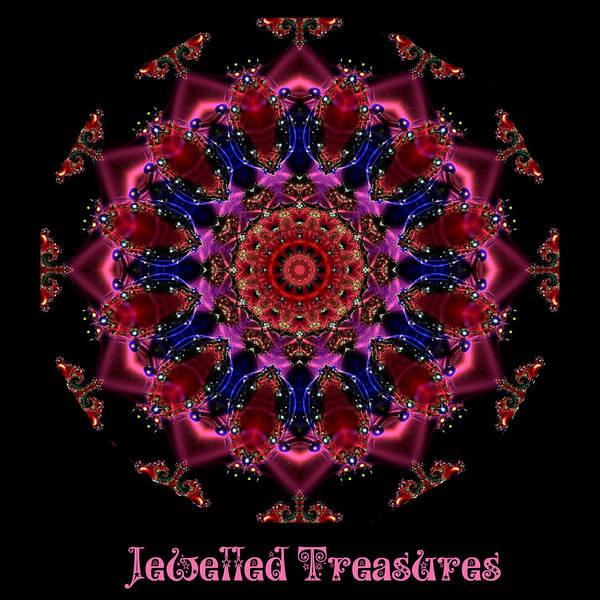 Digital Art - Jewelled Treasure 12 by Charmaine Zoe