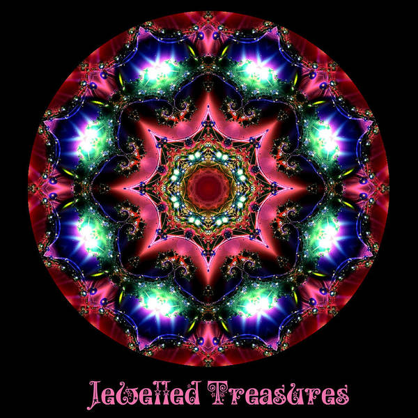 Digital Art - Jewelled Treasure 14 by Charmaine Zoe