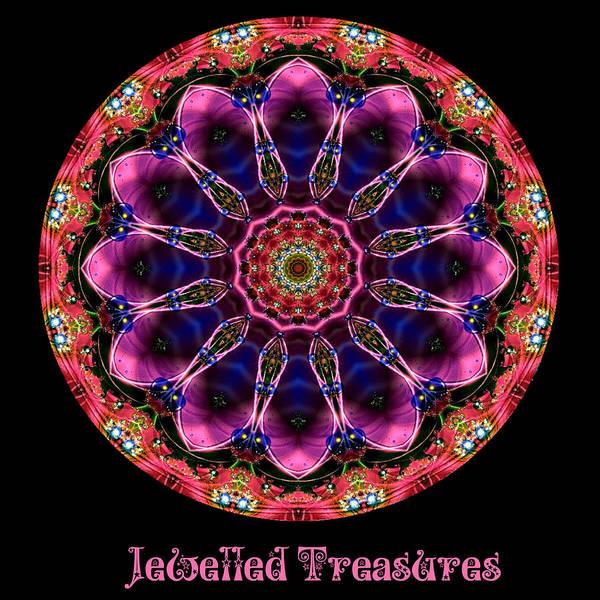 Digital Art - Jewelled Treasure No 13 by Charmaine Zoe
