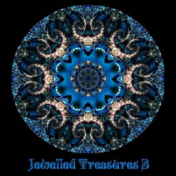 Digital Art - Jewelled Treasure No 16 by Charmaine Zoe
