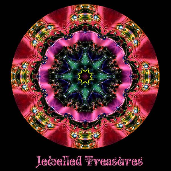 Digital Art - Jewelled Treasure No 6 by Charmaine Zoe