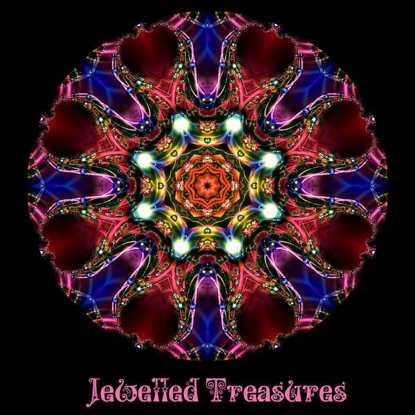 Digital Art - Jewelled Treasure No 9 by Charmaine Zoe