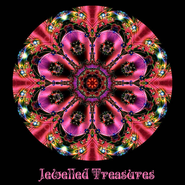 Digital Art - Jewelled Treasures No 1 by Charmaine Zoe